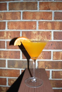 Butternut Squash Martini - the perfect fall cocktail.
