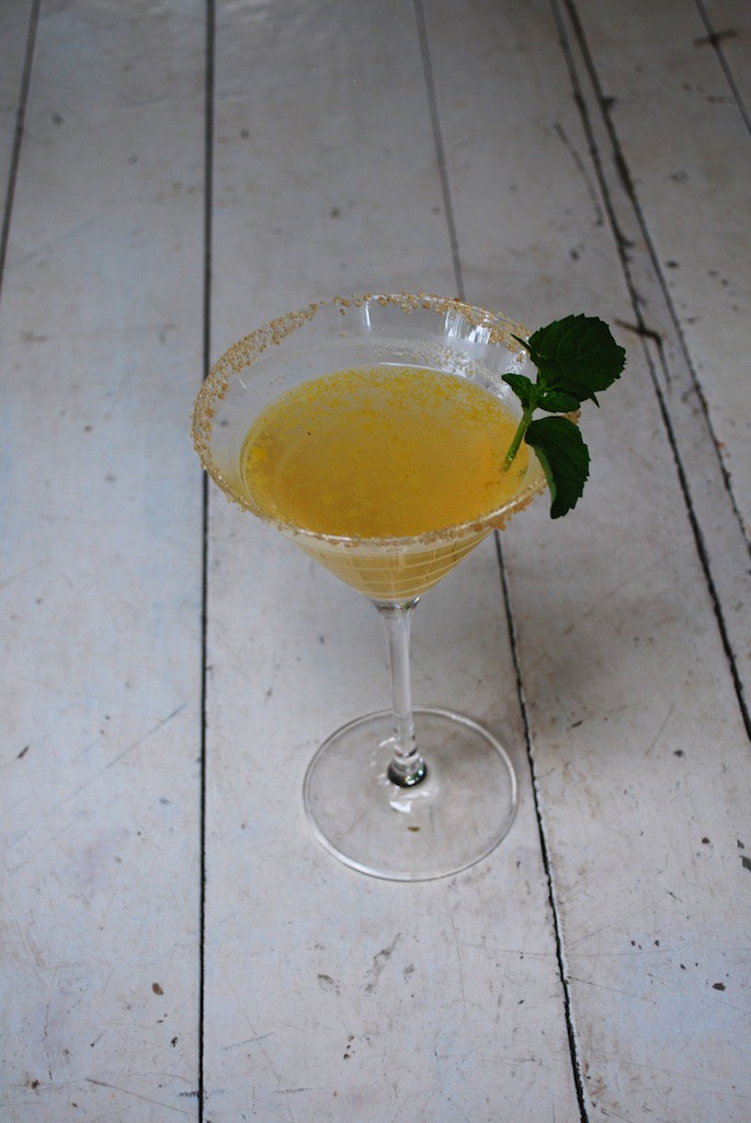 Butternut Squash Cocktail - Butternut Squash Infused Vodka