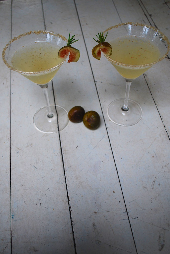Fresh Fig Martinis - A Great Fall Cocktail