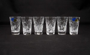 Russian Crystal Shot Glasses Set Make The Perfect Gift