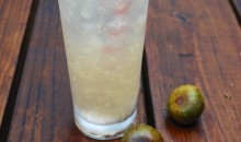 Whipped Cream Vodka Recipe: Sparkling Fig Puff Cocktail