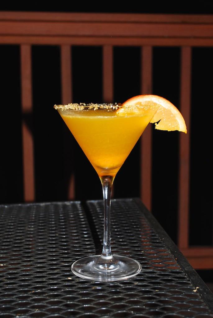 This Squash & Orange Martini is exquisite!