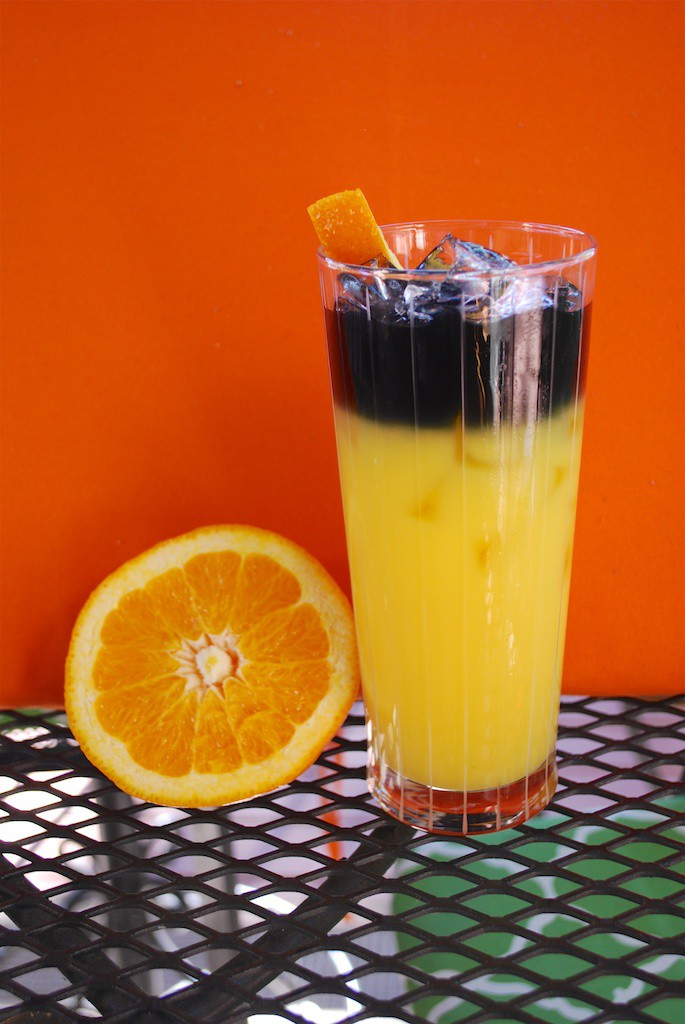 Halloween Screwdriver is a great Halloween Drink!