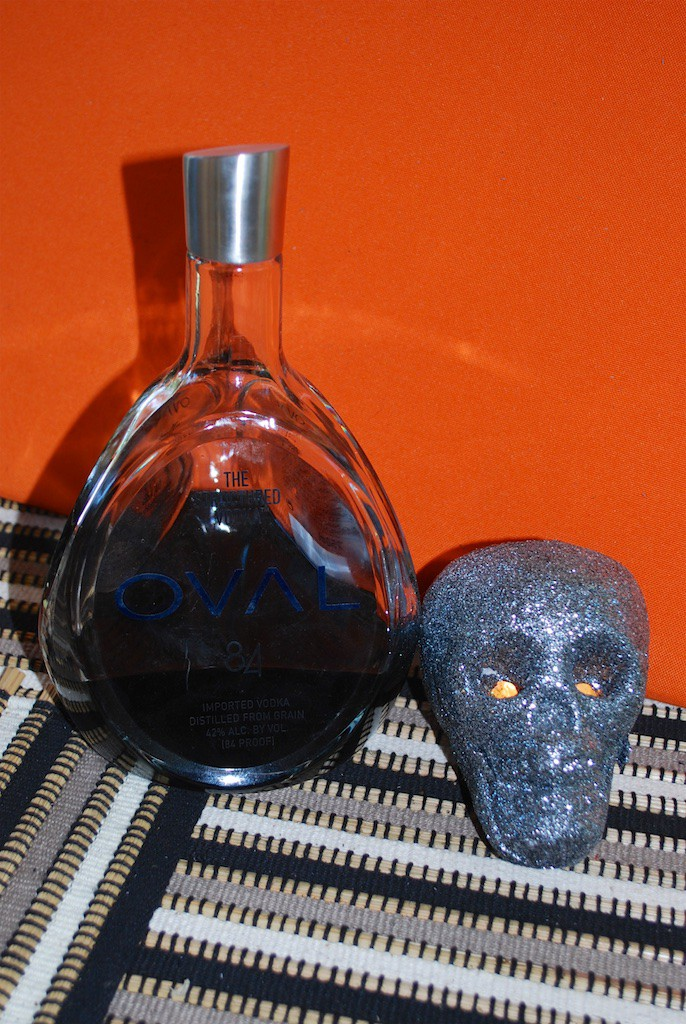 DIY Black Vodka for Halloween Cocktails