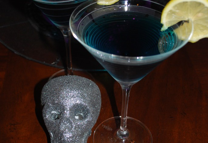 Witches Brew Martini for Halloween
