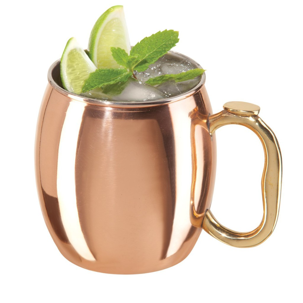 Copper Mugs for Moscow Mule Cocktail