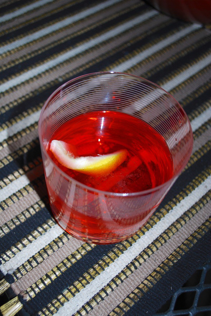 Vodka Negroni Cocktail Recipe