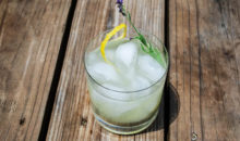Spiked Lemonade with Lavender Rosemary Infused Vodka