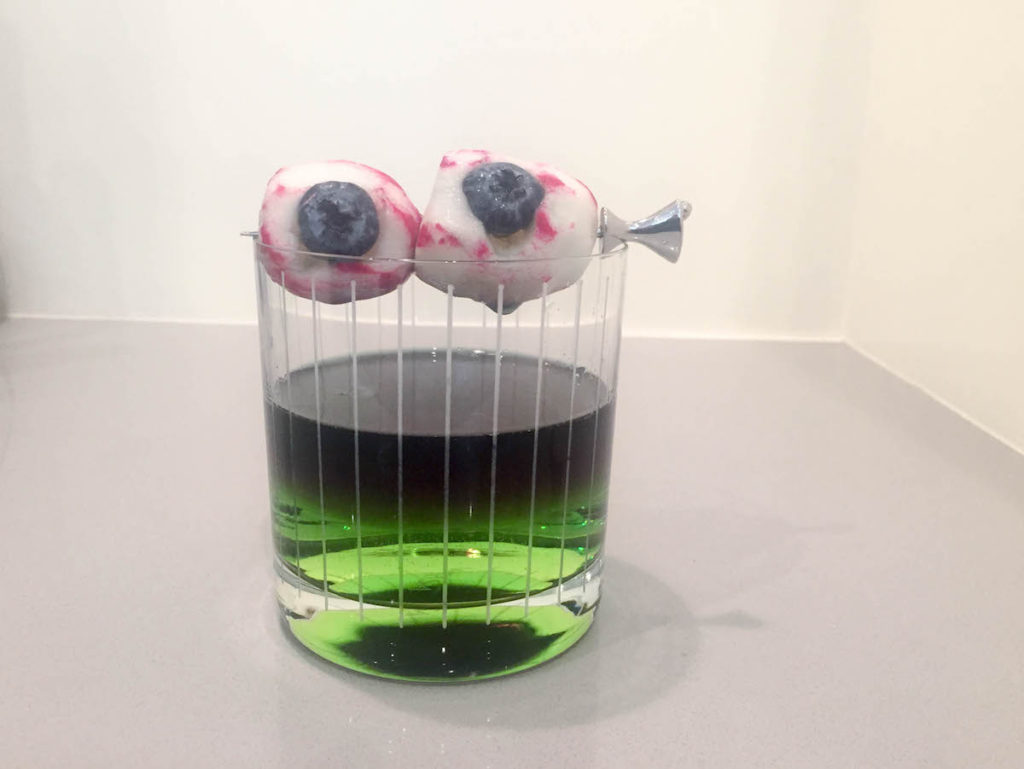 Halloween Cocktail Idea: With Eyeball Garnishes
